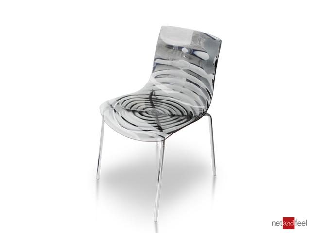 Chair Eau by Connubia Calligaris - Net and Feel Shop online