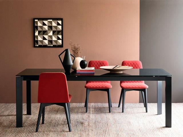Table Baron Glass by Connubia Calligaris - Net and Feel Shop online